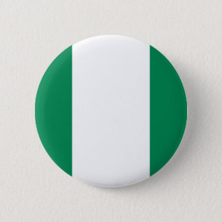 Low Cost! Nigeria Flag Pinback Button
