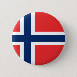 Low Cost! Norway Flag Pinback Button