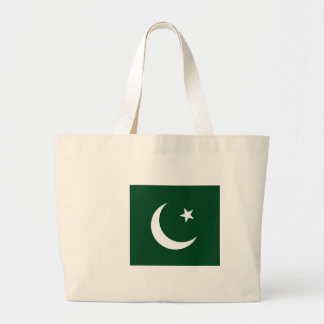Low Cost! Pakistan Flag Large Tote Bag