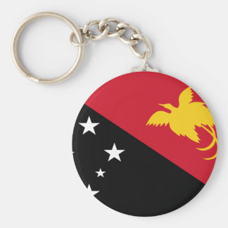 Low Cost! Papua New Guinea Flag Keychain