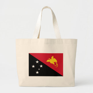 Low Cost! Papua New Guinea Flag Large Tote Bag