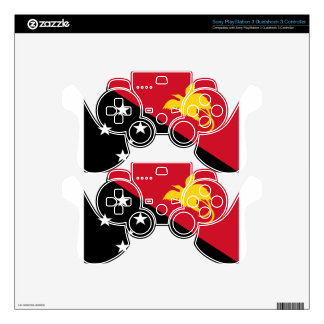 Low Cost! Papua New Guinea Flag PS3 Controller Skins