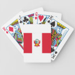 Low Cost! Peru Flag Bicycle Playing Cards