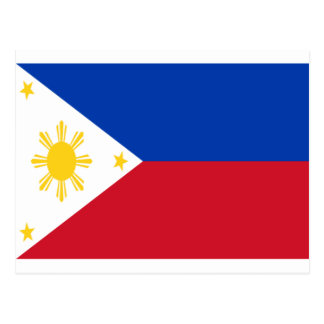 Low Cost! Philippines Flag Postcard
