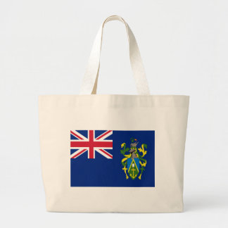 Low Cost! Pitcairn Islands Flag Large Tote Bag
