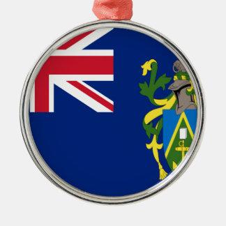 Low Cost! Pitcairn Islands Flag Metal Ornament