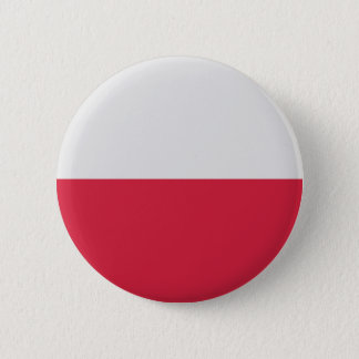Low Cost! Poland Flag Pinback Button