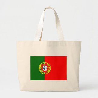 Low Cost! Portugal Flag Large Tote Bag
