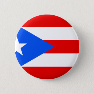 Low Cost! Puerto Rico Flag Button