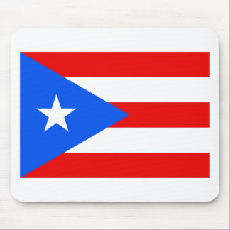 Low Cost! Puerto Rico Flag Mouse Pad