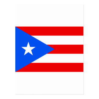 Low Cost! Puerto Rico Flag Postcard