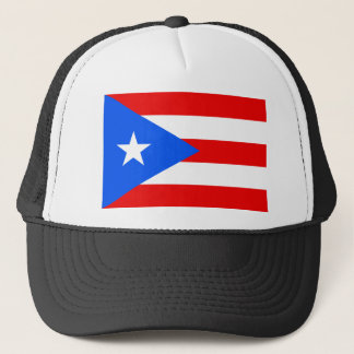 Low Cost! Puerto Rico Flag Trucker Hat
