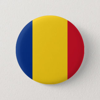 Low Cost! Romania Flag Button