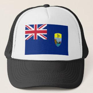 Low Cost! Saint Helena, Ascension Tristan Flag Trucker Hat