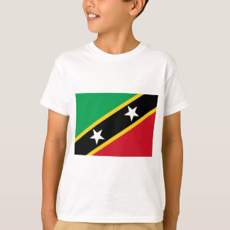 Low Cost! Saint Kitts and Nevis Flag T-Shirt