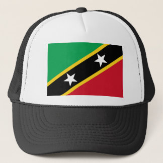 Low Cost! Saint Kitts and Nevis Flag Trucker Hat