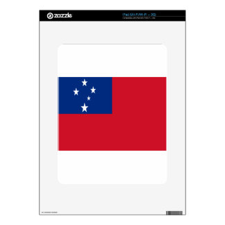 Low Cost! Samoa Flag Decal For iPad