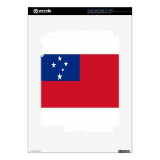 Low Cost! Samoa Flag iPad 2 Decals