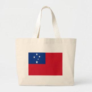 Low Cost! Samoa Flag Large Tote Bag