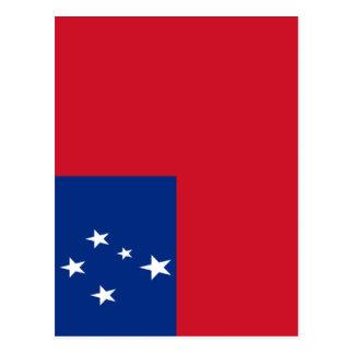 Low Cost! Samoa Flag Postcard