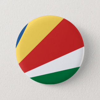 Low Cost! Seychelles Flag Button