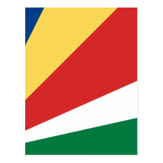 Low Cost! Seychelles Flag Postcard