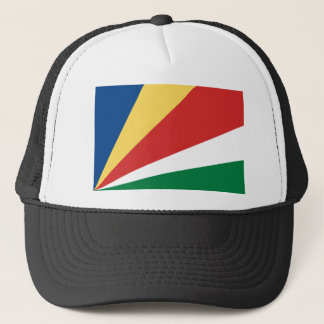 Low Cost! Seychelles Flag Trucker Hat