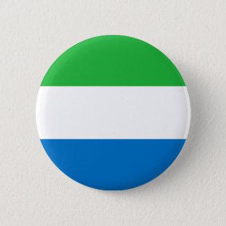 Low Cost! Sierra Leone Flag Button