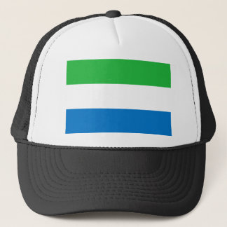 Low Cost! Sierra Leone Flag Trucker Hat