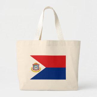 Low Cost! Sint Maarten Flag Large Tote Bag