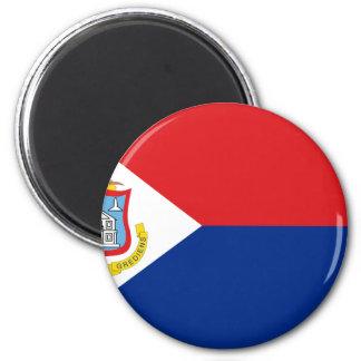 Low Cost! Sint Maarten Flag Magnet