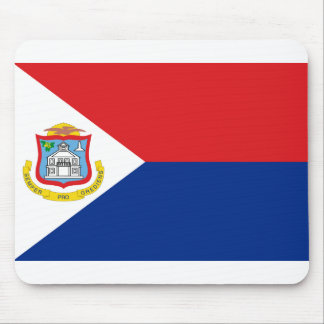 Low Cost! Sint Maarten Flag Mouse Pad