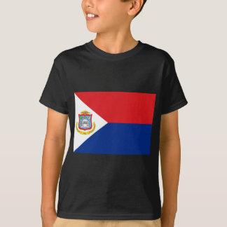 Low Cost! Sint Maarten Flag T-Shirt