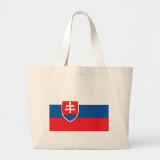Low Cost! Slovakia Flag Large Tote Bag