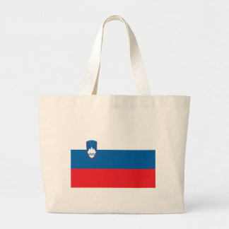Low Cost! Slovenia Flag Large Tote Bag
