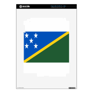 Low Cost! Solomon Islands Flag iPad 2 Skins