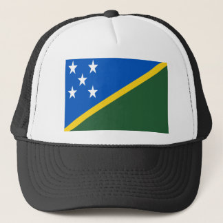 Low Cost! Solomon Islands Flag Trucker Hat