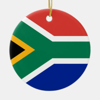 Low Cost! South Africa Flag Ceramic Ornament