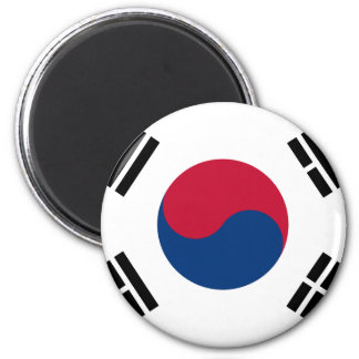 Low Cost! South Korea Flag Magnet
