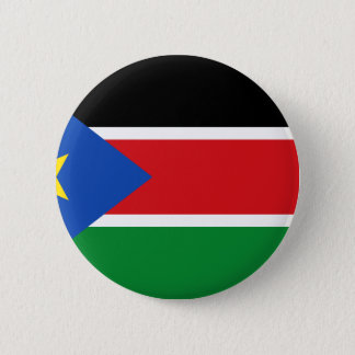 Low Cost! South Sudan Flag Button