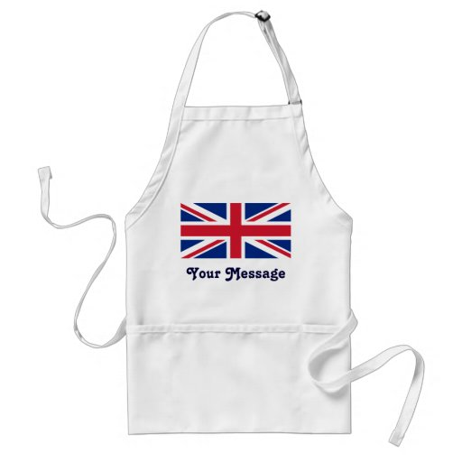 Low Cost Union Jack Flag Crafts Cook Chef Apron