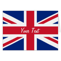 Low Cost Union Jack Flag of Great Britain Greeting Cards at  Zazzle