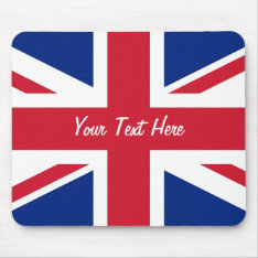 Low Cost Union Jack Flag of Great Britain Mousepad at Zazzle