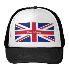 Low Cost Union Jack Flag Sports Team Club Hat at Zazzle