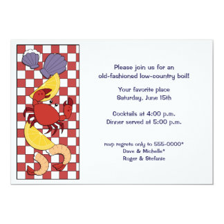 Low-Country Boil Invitation