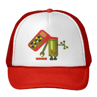 Low Energy Retro Robot Trucker Hat