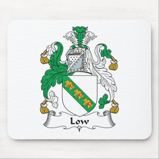 Low Family Crest Mouse Pad
