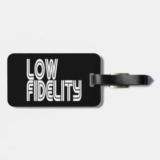 Low Fidelity Bag Tag