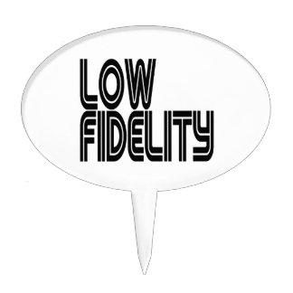 Low Fidelity Cake Topper