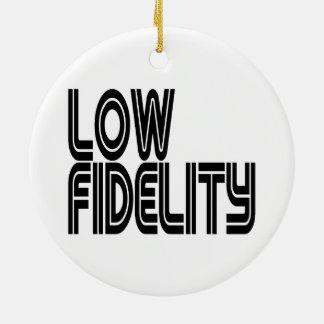 Low Fidelity Ceramic Ornament